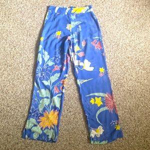Cleobella Marna floral print high waisted pants XS